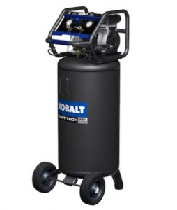Kobalt QUIET TECH 26-Gallon Portable Electric Vertical Air Compressor
