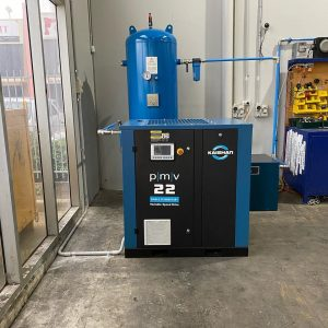 compressed air systems work full
